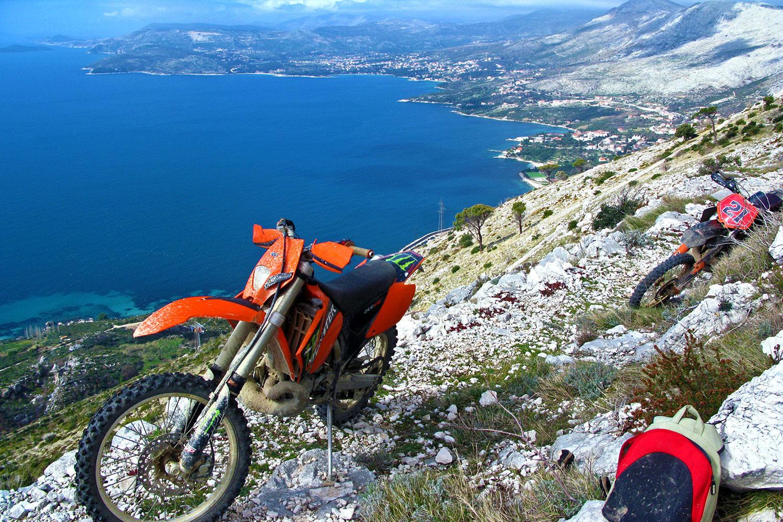 Enduro near Cavtat, Croatia