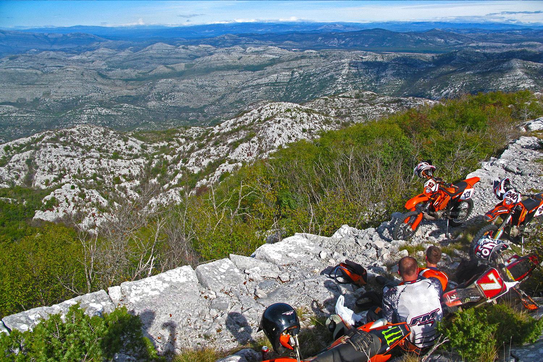 Enduto tour in Konavle hills, Croatia